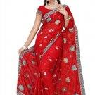 Indian Bollywood Designer Saree Embroidered Sari - TU435