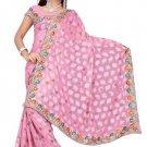 Indian Bollywood Designer Saree Embroidered Sari - TU415