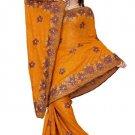 Indian Bollywood Designer Saree Embroidered Sari - TU413