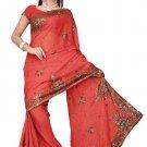Indian Bollywood Designer Saree Embroidered Sari - TU375