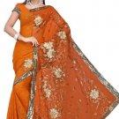 Indian Bollywood Designer Saree Embroidered Sari - TU360