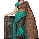 Indian Bollywood Designer Saree Embroidered Sari - TU345