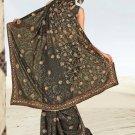 Indian Bollywood Designer Saree Embroidered Sari - Tu1949
