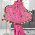 Indian Bollywood Designer Saree Embroidered Sari - Tu1929