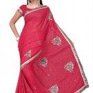 Indian Bollywood Designer Saree Embroidered Sari - TU390