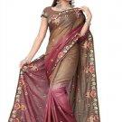 Indian Bollywood Designer Saree Embroidered Sari - TU325