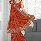 Indian Bollywood Designer Saree Embroidered Sari - Tu1935
