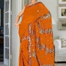 Indian Bollywood Designer Saree Embroidered Sari - Tu1927