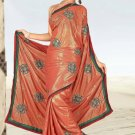 Indian Bollywood Designer Saree Embroidered Sari - Tu1951