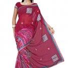 Indian Bollywood Designer Saree Embroidered Sari - TU419