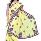 Indian Bollywood Designer Saree Embroidered Sari - TU109B