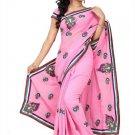 Indian Bollywood Designer Saree Embroidered Sari - TU109D