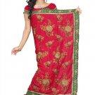Indian Bollywood Designer Saree Embroidered Sari - TU107D