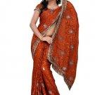 Indian Bollywood Designer Saree Embroidered Sari - TU105B