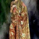 Indian Bollywood Designer Printed Saree Sari  - X 1517