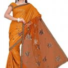 Indian Bollywood Designer Saree Embroidered Sari - TU452