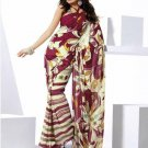 Indian Bollywood Designer Partywear Printed Saree Sari - VF 8307b