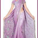 Indian Bollywood Designer Embroidered Saree Sari - Tu5620