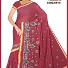Indian Bollywood Designer Embroidered Saree Sari - Tu5615