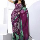 Indian Bollywood Designer Partywear Printed Saree Sari - VF 8313b