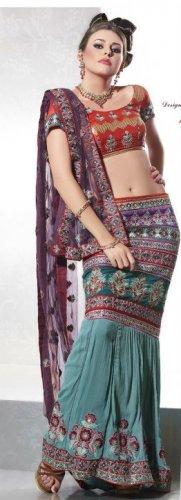 Indian Bollywood Designer Lehenga Choli / Ghagara Choli Saree Sari - TS2013