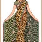 Indian Bollywood Designer Embroidered Saree Sari - Tu6340