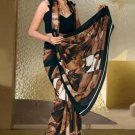 Indian Bollywood Designer Printed Saree Sari  - X 1512