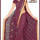 Indian Bollywood Designer Embroidered Saree Sari - Tu5618