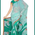 Indian Bollywood Designer Embroidered Saree Sari - Tu6334