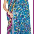 Indian Bollywood Designer Embroidered Saree Sari - Tu6226