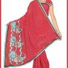 Indian Bollywood Designer Embroidered Saree Sari - Tu5599