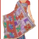 Indian Bollywood Designer Embroidered Saree Sari - Tu6349