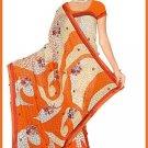 Indian Bollywood Designer Embroidered Saree Sari - Tu6335