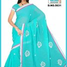 Indian Bollywood Designer Embroidered Saree Sari - Tu5631