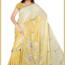 Indian Bollywood Designer Embroidered Saree Sari - Tu5629