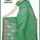 Indian Bollywood Designer Embroidered Saree Sari - Tu5619