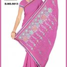 Indian Bollywood Designer Embroidered Saree Sari - Tu5613