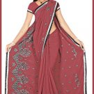 Indian Bollywood Designer Embroidered Saree Sari - Tu5556