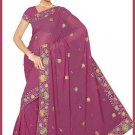 Indian Bollywood Designer Embroidered Saree Sari - Tu5581