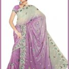 Indian Bollywood Designer Embroidered Saree Sari - Tu5580
