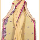Indian Bollywood Designer Embroidered Saree Sari - Tu5561