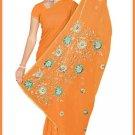 Indian Bollywood Designer Embroidered Saree Sari - Tu5541