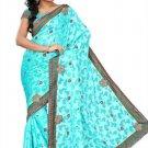 Indian Bollywood Designer Embroidered Saree Sari - Tu203