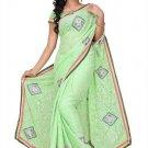 Indian Bollywood Designer Embroidered Saree Sari - Tu199
