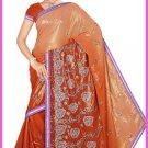 Indian Bollywood Designer Embroidered Saree Sari - Tu5590