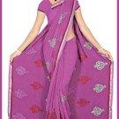 Indian Bollywood Designer Embroidered Saree Sari - Tu5545