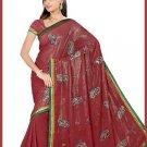 Indian Bollywood Designer Embroidered Saree Sari - Tu5530