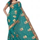 Indian Bollywood Designer Embroidered Saree Sari - Tu138