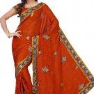 Indian Bollywood Designer Embroidered Saree Sari - Tu131A
