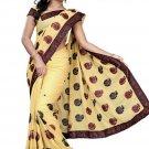 Indian Bollywood Designer Embroidered Saree Sari - Tu104c